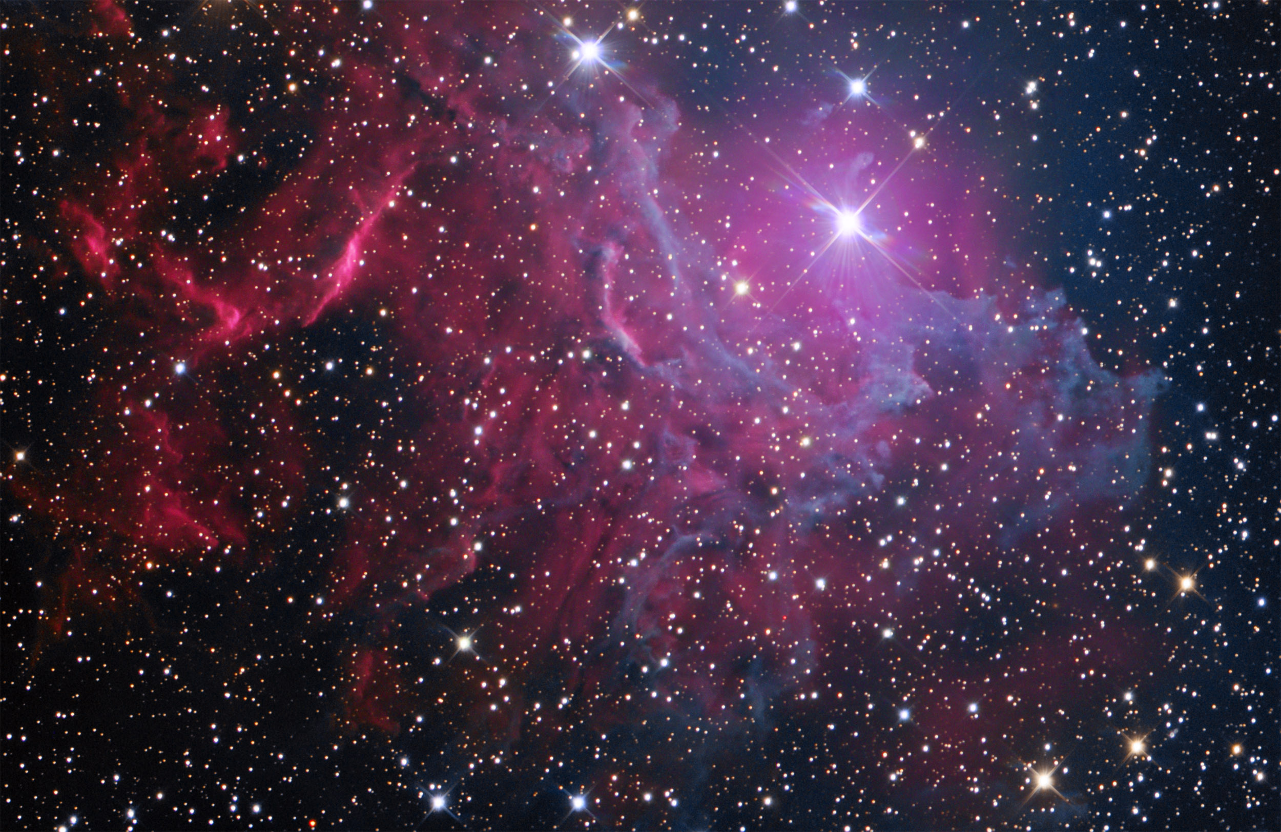 IC405, Flaming Star