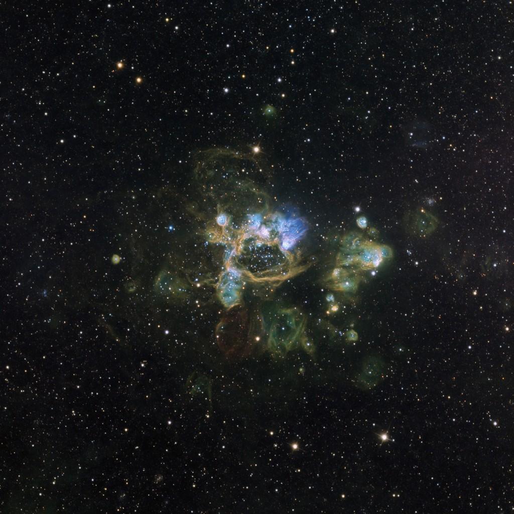N44 SuperBubble in LMC –  MRO