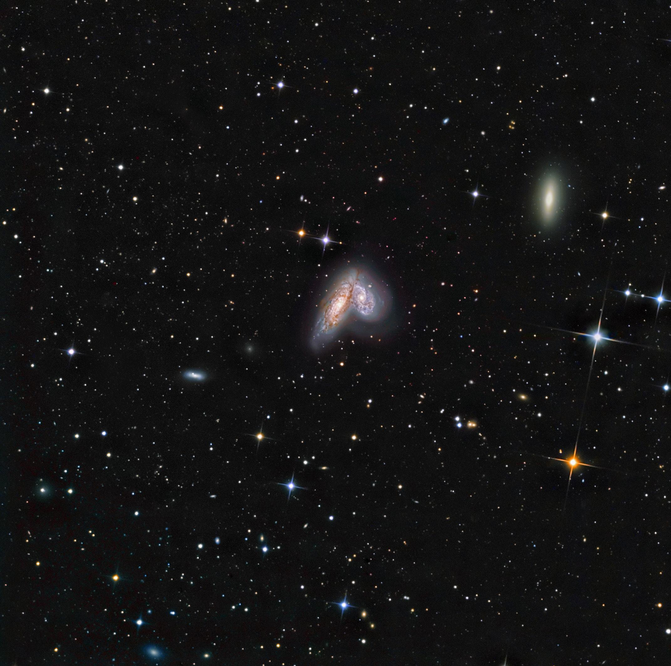 Siamese Twins  NGC4568
