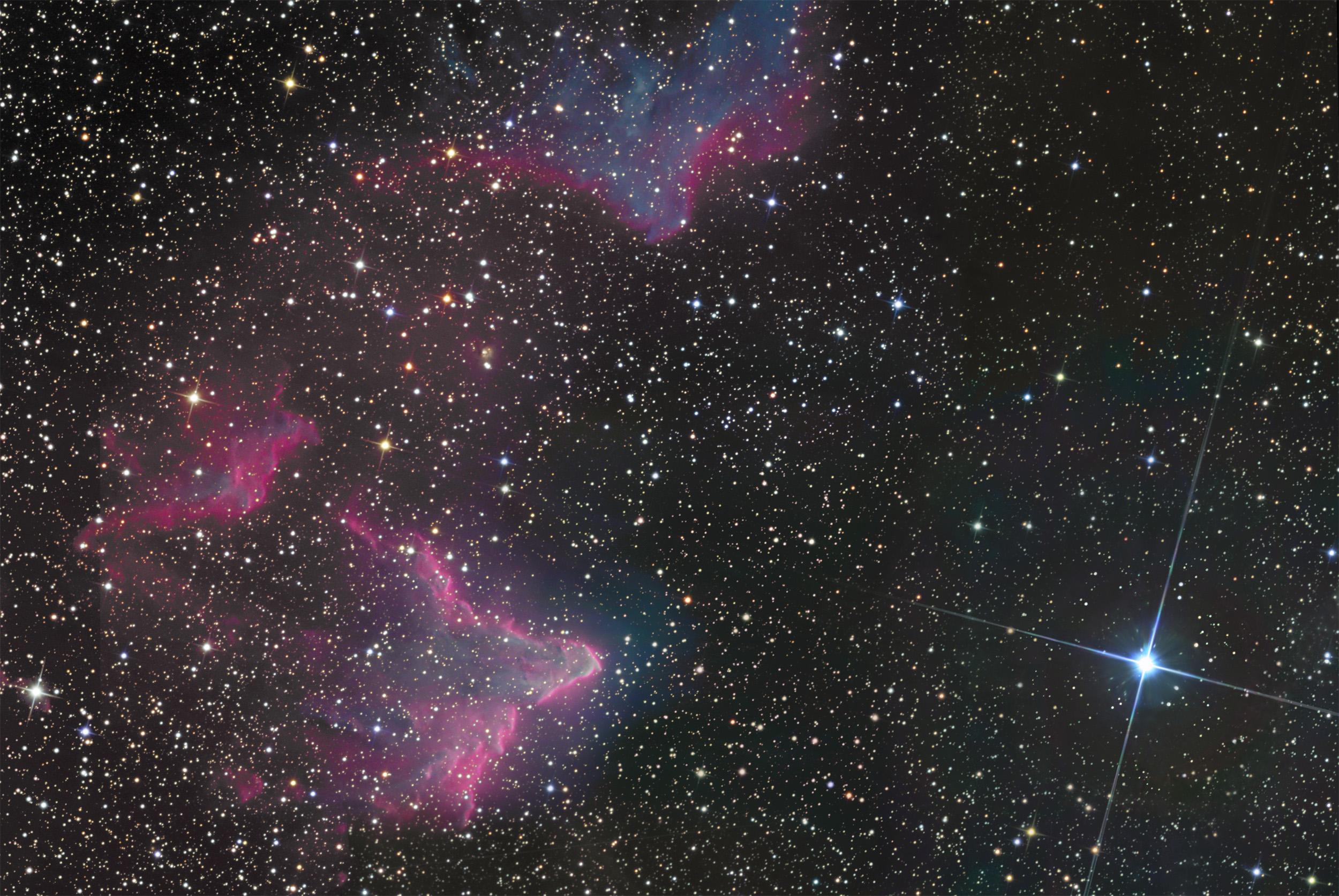 Gamma Cass Nebula
