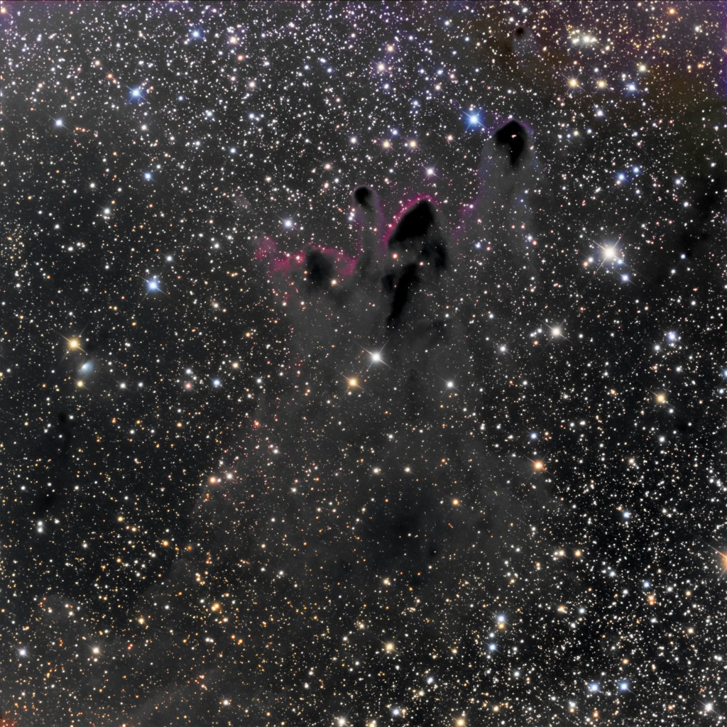 Cometary Globules CG30, CG31 in Puppis