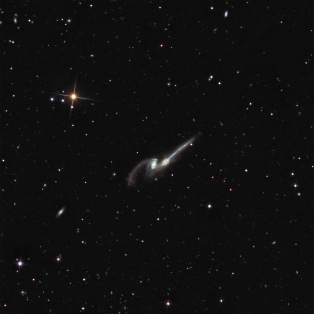 NGC 4676  The Mice
