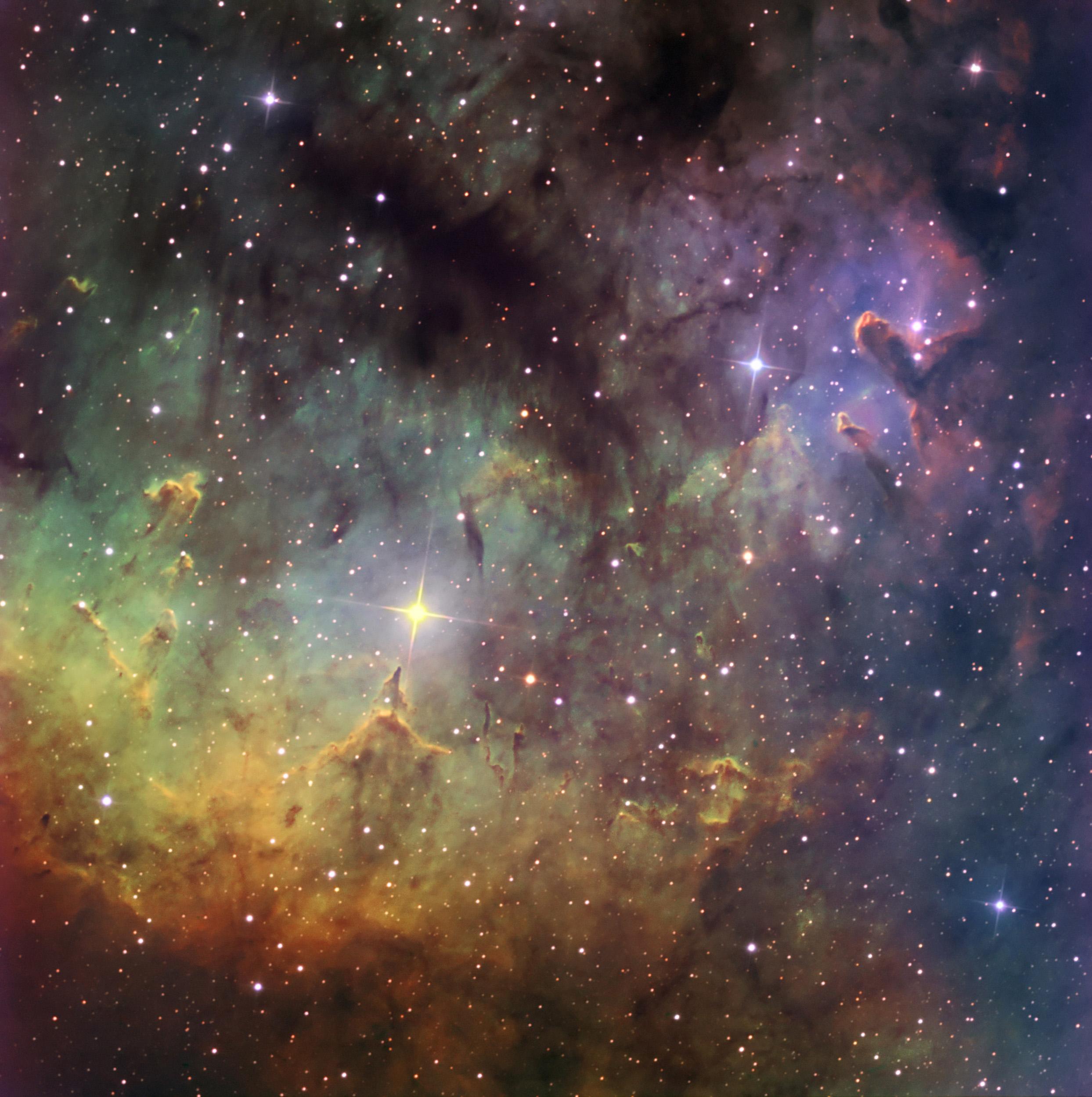 NGC 7822 Narrowband