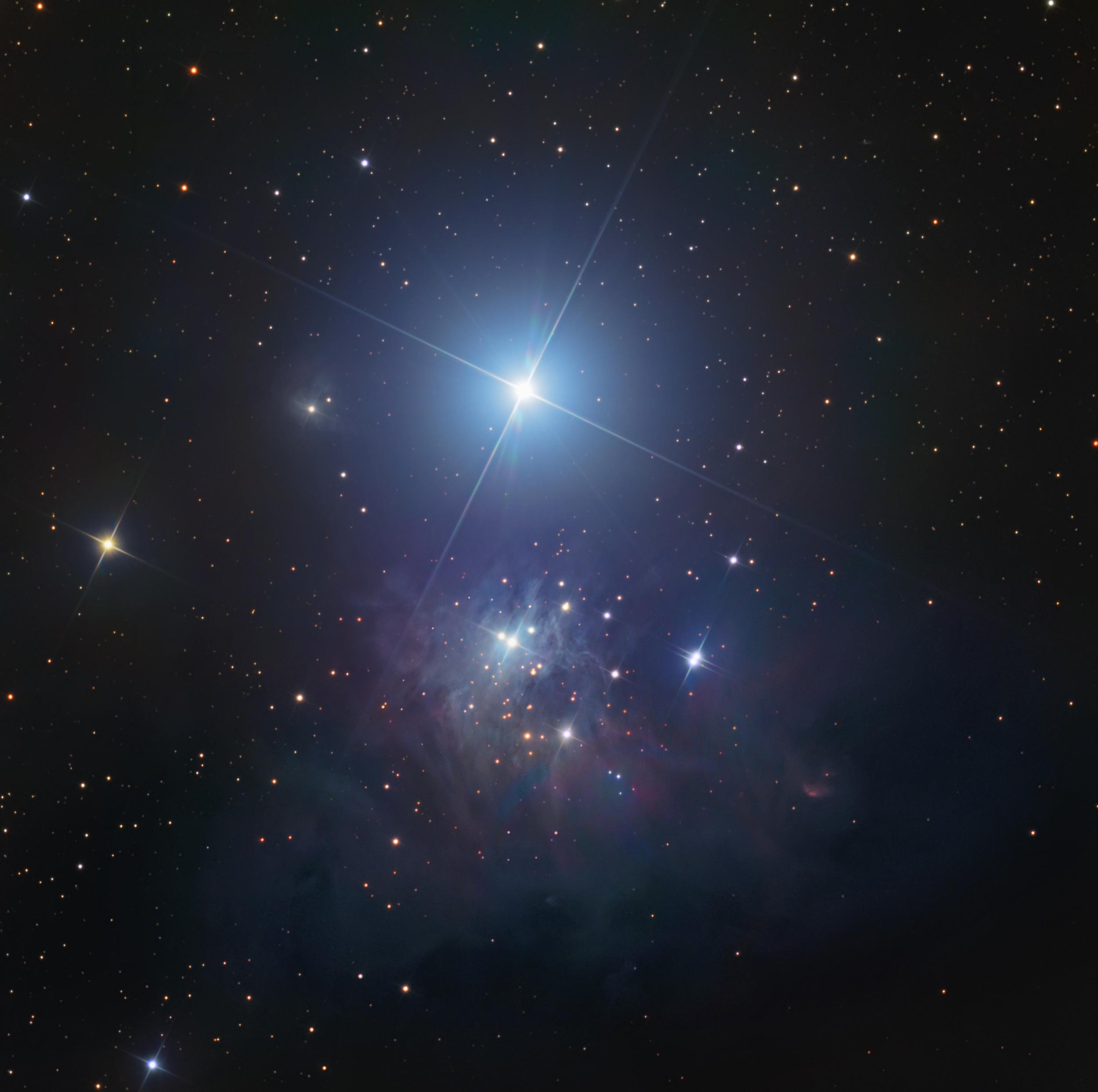 IC 348 and VdB 19