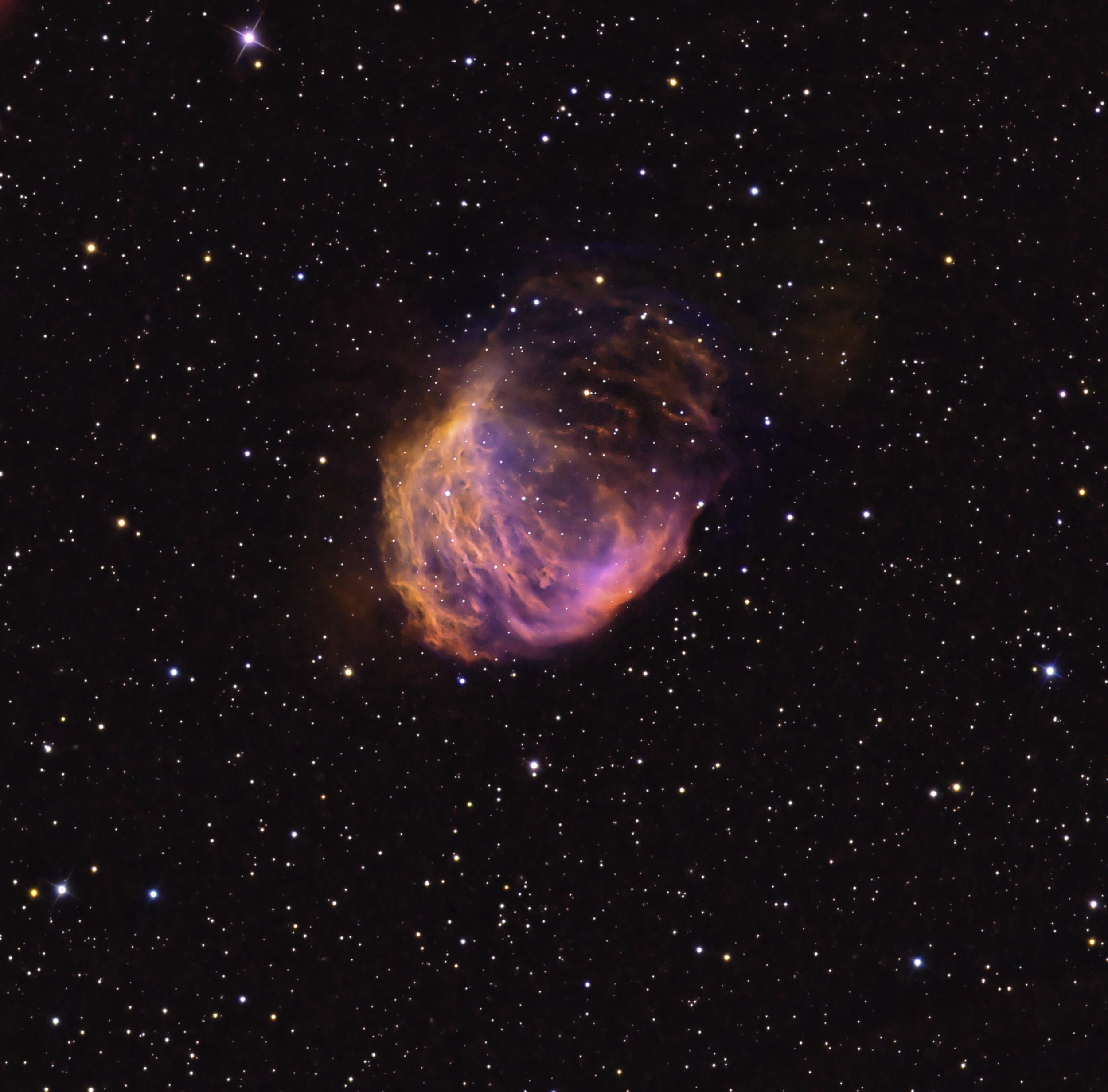 Medusa Nebula with NII