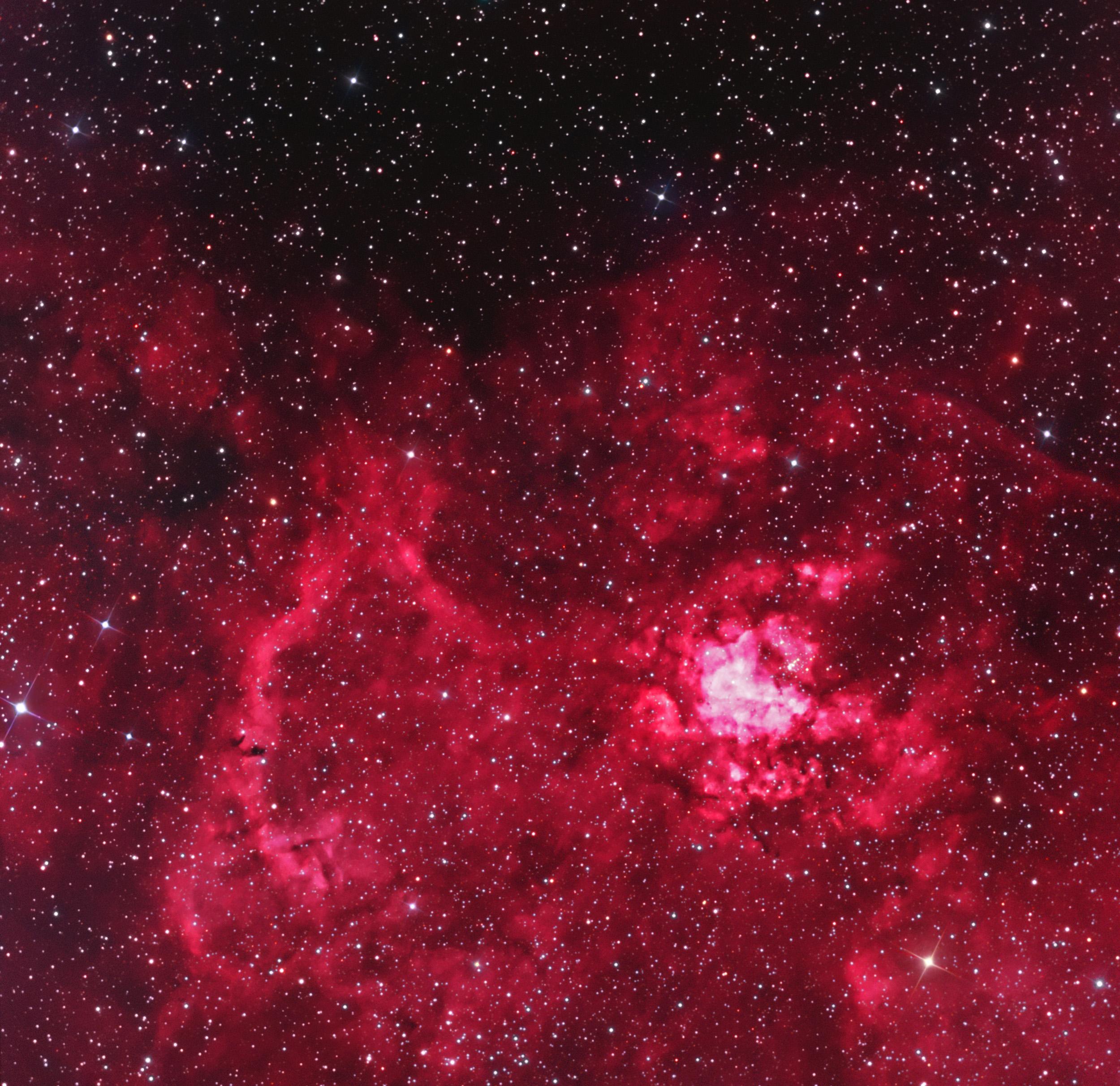 RCW49 Star Forming Region in Carina