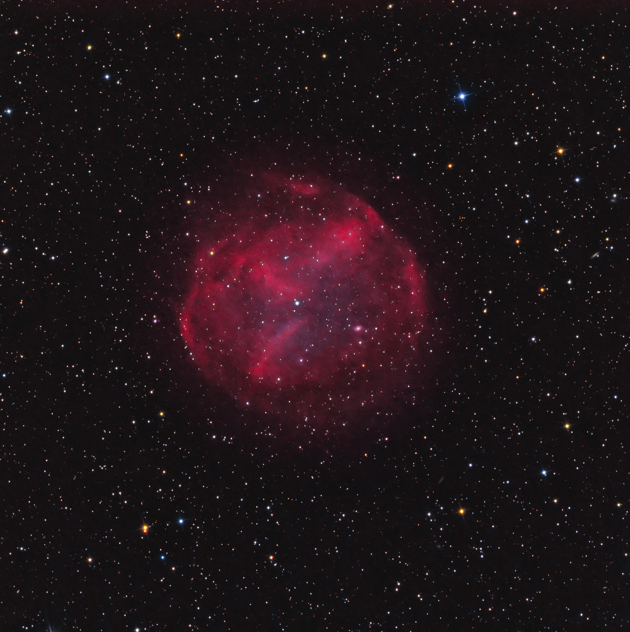Abell 74 in Vulpecula
