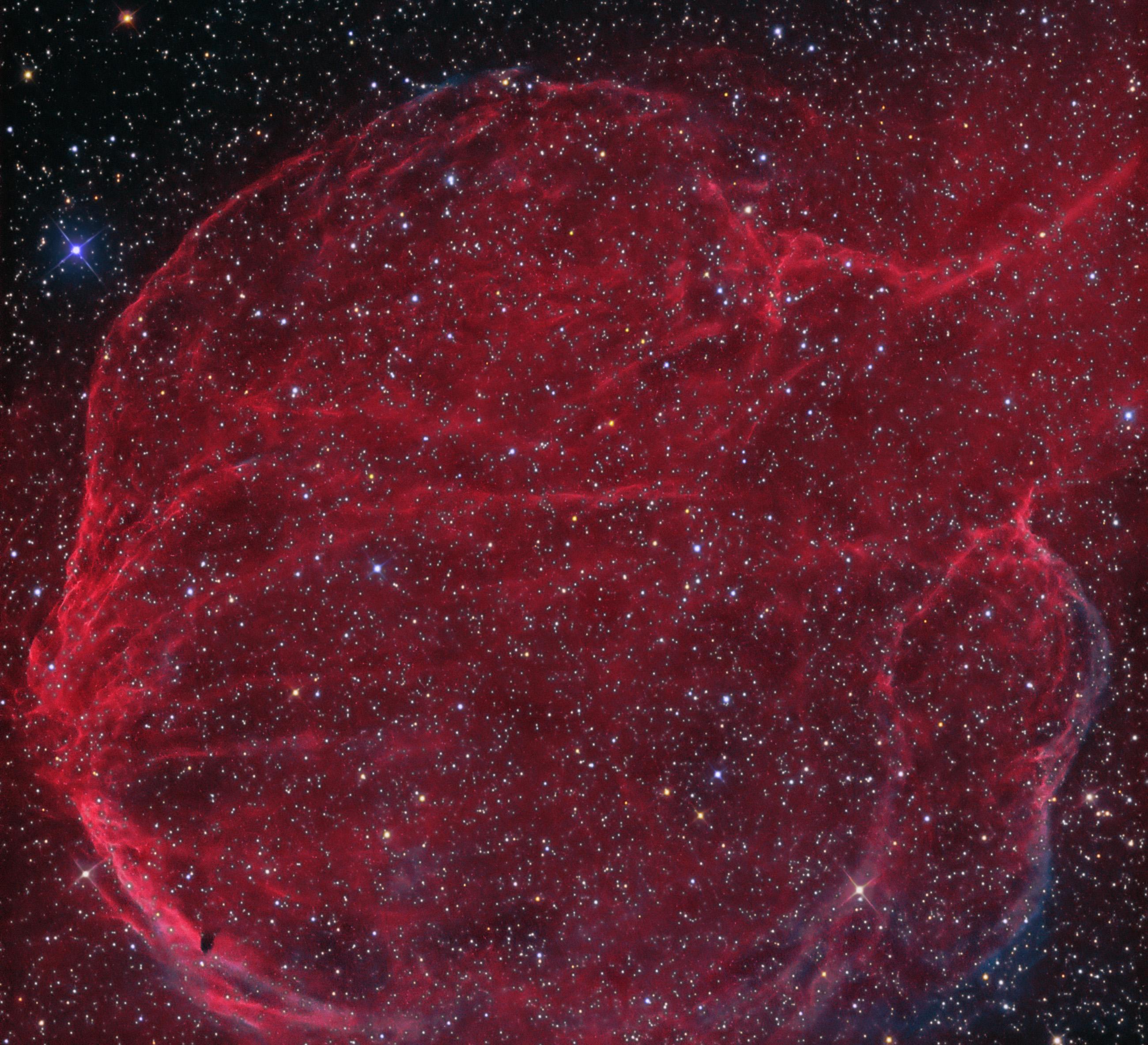 CTB 1 Supernova Remnant