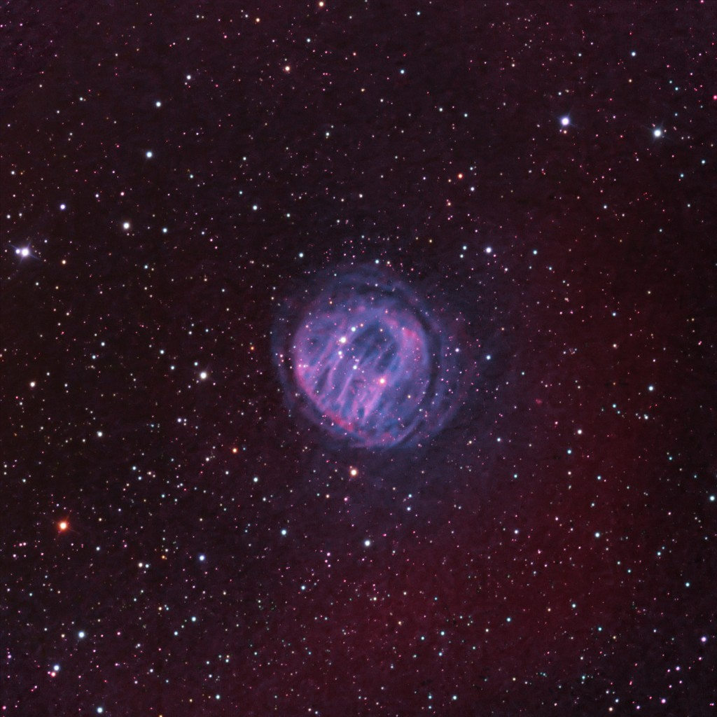 HDW 2 Ancient Planetary Nebula in Cassiopeia