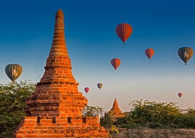 Ballons Over Bagan, Myanmar