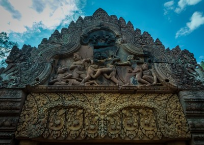 Banteay Srey Carving, Cambodia