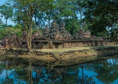 Banteay Srey Reflection, Cambodia