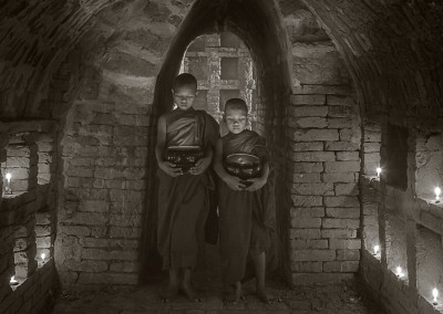 Monastery, Bagon, Myanmar