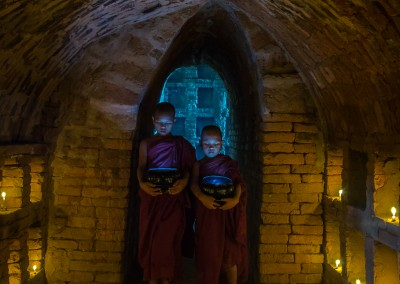 Double Contemplation, Bagan, Myanmar