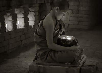 Contemplation, Bagan, Myanmar