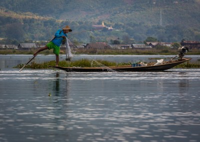 Inle Lake Fisherman, Myanmar