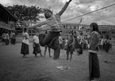 Jump Rope Inle Myanmar