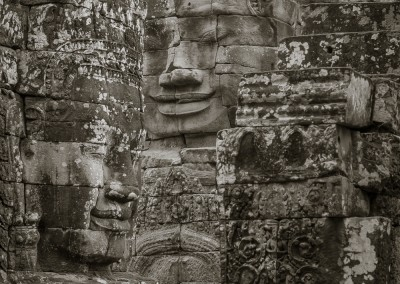 More Faces Angkor Thom, Cambodia