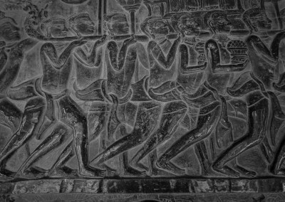 Mural Angkor Wat, Cambodia