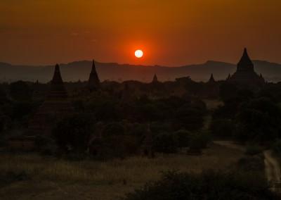 Shwesandaw Sunset, Bagan, Myanmar