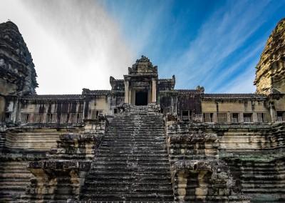 Steps Angkor Wat, Cambodia