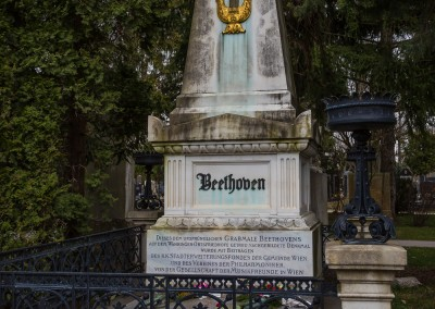 Beethoven Grave, Central Cemetary, Vienna