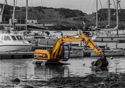 Cleanup at Port Ellen, Islay