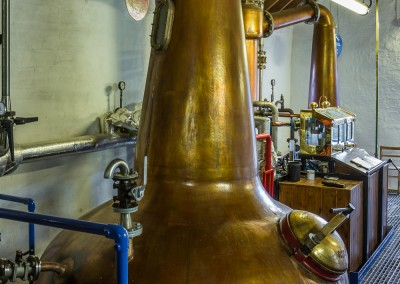 Distillation at Kilchoman, Islay