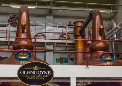 Distillation at Glengoyne, Highlands