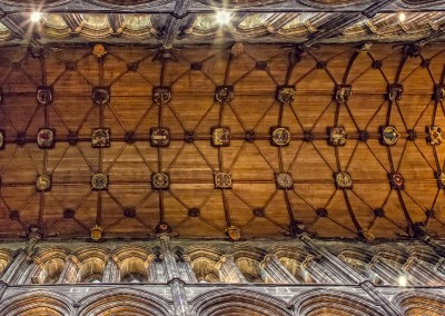 Glasgow Cathedral Ceiling 2