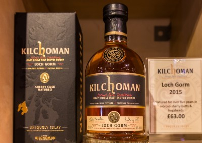 Kilchoman Finished!