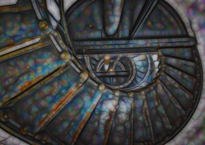 Surrealistic Stairs Pt. Arena Lighthouse