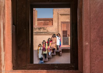 Friends at Fatehpur Sikri Fort
