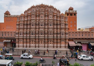 "Hawa Mahal Palace, Jaipur (""Palace of Winds"")"