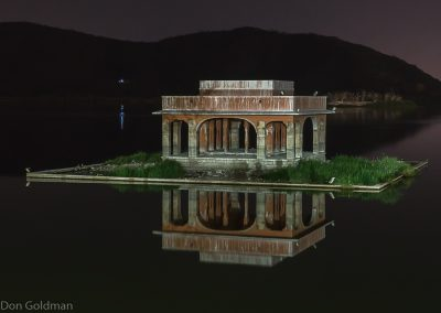 Small Temple Near Jai Mahal Palace in Man Sagar Lake