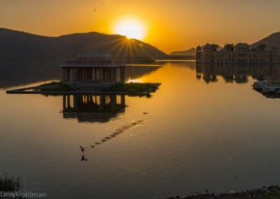 Sunrise Jai Mahal Palace, Man Sagar Lake, Jaipur