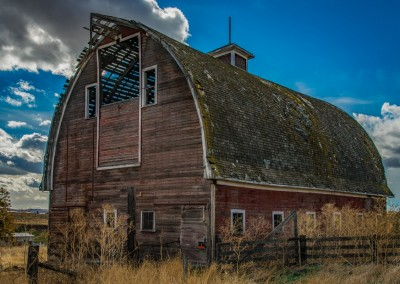 Old Barn Near Colfax