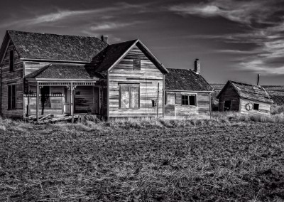 Abandoned Weber House Near Colton