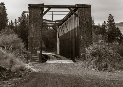 Old Bridge Near Colfax