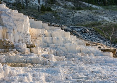 Mammoth Hot Springs Staircase