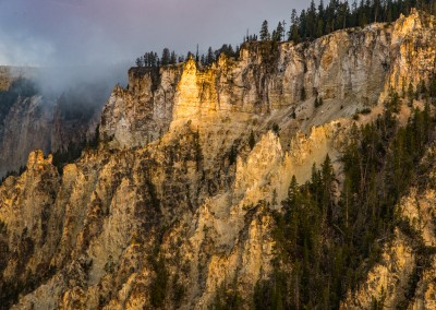 Sunrise Near Yellowstone Falls