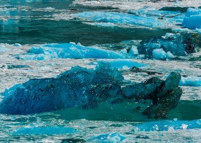 Clear Blue Deep Ice