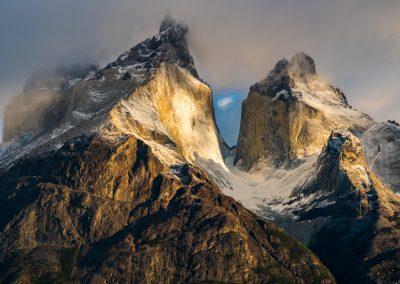 Los Cuernos (The Horns) Torres del Paine Chile