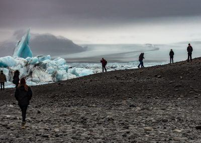 Jokulsarlon Glacier and Ice Lagoon