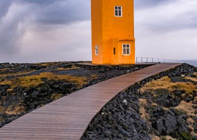 Svortuloft Orange Lighthouse