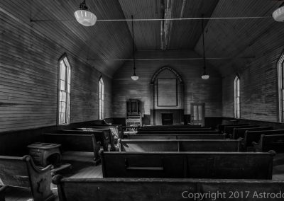 Bodie-Church Inside