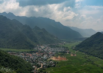 Approaching Mai Chau