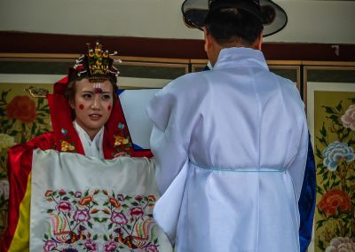 Bride and Priest