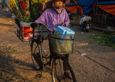 Early Morning Flower Vendor