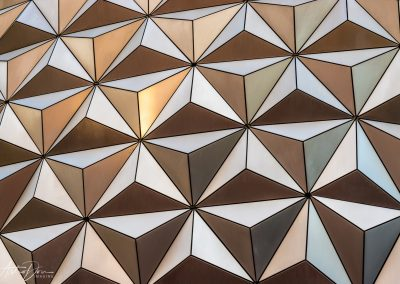 Epcot Spaceship Earth Pattern